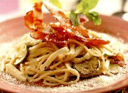 Paste Carbonara cu sos