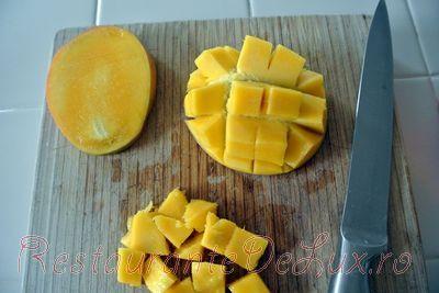 Sorbet de mango