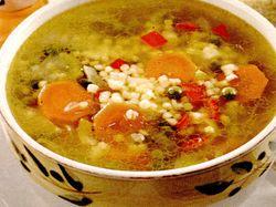 Supa de cuscus cu boia si cartofi