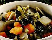 Supa de fasole verde cu smantana si patrunjel