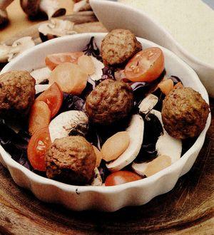 Chiftelute din ciuperci pentru mesele festive