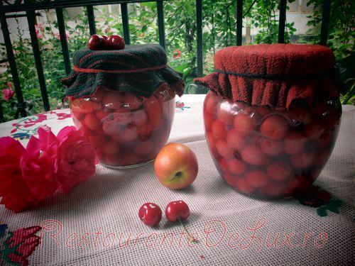 Compot pentru iarna din cirese