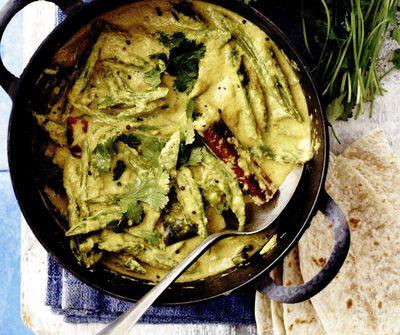Curry_vegetarian_cu_fasole_verde_ghimbir_si_lapte_de_cocos