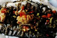 Pastrav_la_gratar_cu legume_înabusite