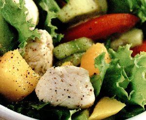 Salata_verde_cu_piept_de_pui