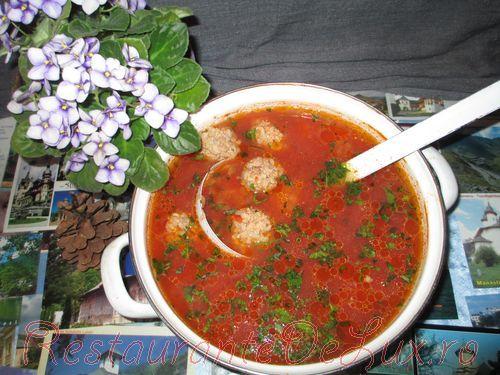 Ciorba de perisoare cu legume