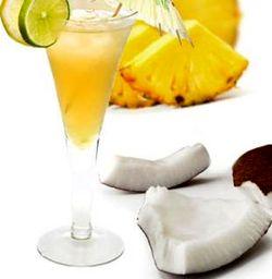 Cocktail cu nuca de cocos