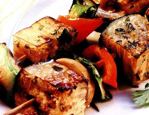 Frigarui vegetariene cu vinete