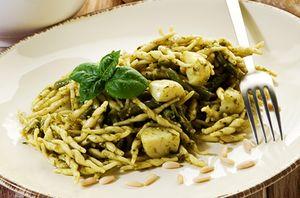 Paste_cu_branza_tofu_si_fasole_verde