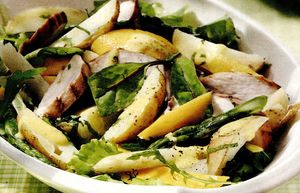 Salată de pui cu mango