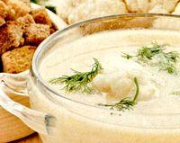 Supa-crema de conopida cu frisca