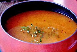 Supă de roşii coapte