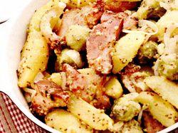 Cartofi_cu_jambon_si_varza_de_Bruxelles