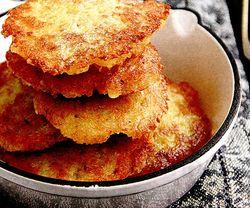 Clatite de cartofi cu carne