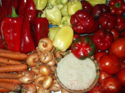 Ghiveci de legume la cuptor