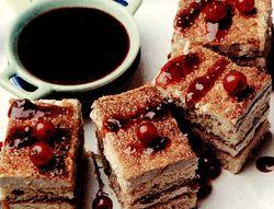 Prăjitură cu cremă de fructe