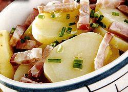Salata cu kaizer si cartofi