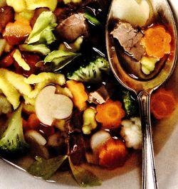 Supa picanta de vacuta