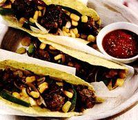 Tacos cu carne de vita