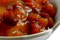 Chutney de mere cu ardei iute
