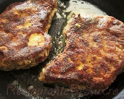 Cotlete de porcin crusta de miere