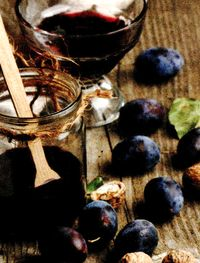 Dulceata de prune cu stafide