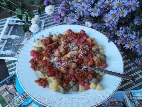 Reteta zilei: Gnocchi cu ragu alla bolognese