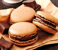 Macarons_de_ciocolata