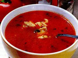 Supa de pui si rosii