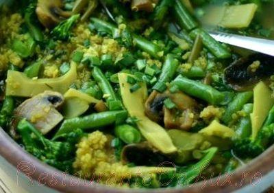 Supa picanta de legume cu quinoa