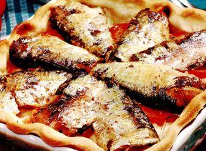 Tarta cu sardine