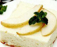 Cheesecake_cu_pere