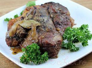 Cotlet de porc cu sos de ghimbir