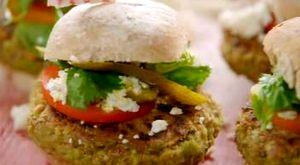 Burger vegetalcu nuci