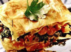 Lasagna simpla de legume