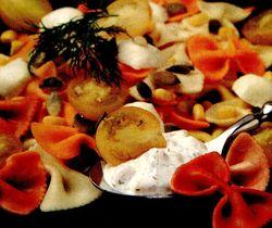 Paste_cu_sos_de_mozzarella