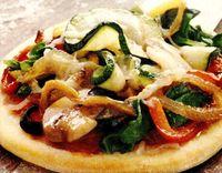 Pizza cu ardei gras şi măsline