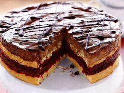 Tort_de_pere_si_ciocolata_asezonat_cu_merisoare_acrisoare