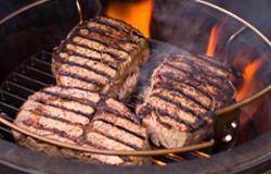 Platou cald cu carne de porc