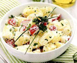 Salata de telina si cartofi