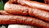 Carnati de porc in sos de vin