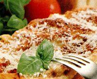 Lasagna cu parmezan si cimbru