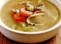 Supa de curcan cu telina