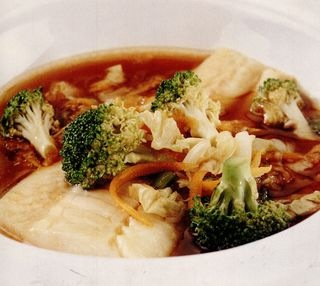 Supa orientala de legume