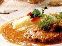 Vrabioara de manzat cu sos de rosii