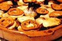 Reteta musaca de cartofi cu ciuperci