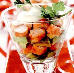 Salata de surimi cu porumb