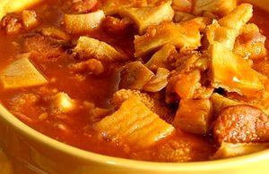 Supa de burta si carne de vita