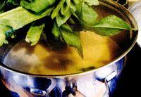 Bors de stevie cu macris