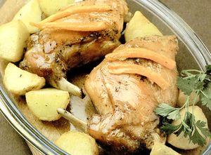 Friptura_de_iepure_cu_cartofi
